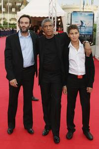 Anthony Delon, Samy Naceri and Julien at the premiere of