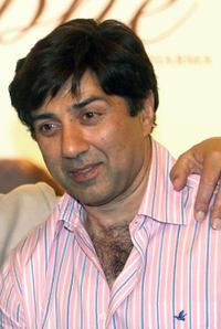 Sunny Deol at the promotion of