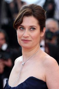 Emmanuelle Devos at the 63rd Annual Cannes Film Festival.