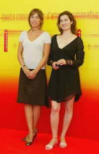 Laura Smet and Emmanuelle Devos at the photocall of