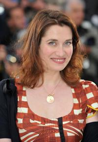 Emmanuelle Devos at the photocall of