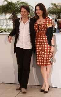 Mathieu Amalric and Emmanuelle Devos at the photocall of