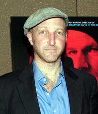 Jonathan Ames at the New York premiere of