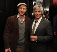 Jonathan Ames and director John Curran at the after party of the New York premiere of