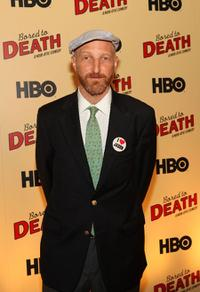 Jonathan Ames at the premiere of