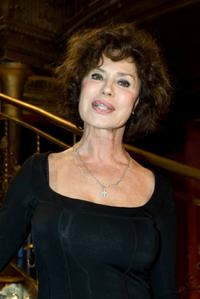 Corinne Clery at the photocall of Italian TV show