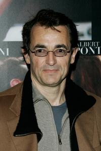 Albert Dupontel at the premiere of