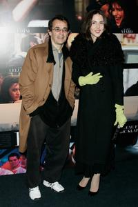 Albert Dupontel and Guest at the premiere of