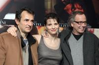 Albert Dupontel, Juliette Binoche and Fabrice Luchini at the premiere of