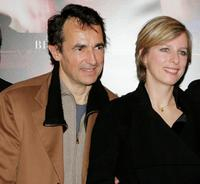 Albert Dupontel and Karin Viard at the premiere of