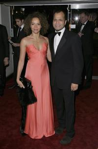 Carmen Ejogo and Jeffrey Wright at the Royal Film Performance 2006 and premiere of