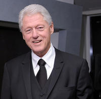 Bill Clinton at the