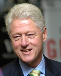 Bill Clinton at the Book Signing of