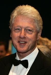 Bill Clinton at the 57th Annual Bambi Awards.