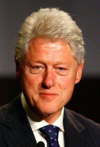 Bill Clinton at the Rwanda reception during the 2007 Tribeca Film Festival.