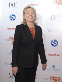Hillary Rodham Clinton at the