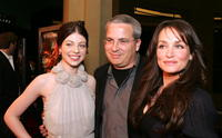 Michelle Trachtenberg, Glen Morgan and Kristen Cloke at the premiere of