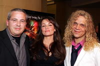 Glen Morgan, Kristen Cloke and Dean Friss at the premiere of