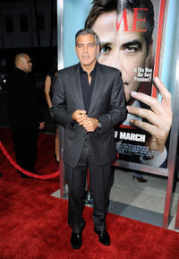 George Clooney at the California premiere of