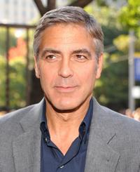 George Clooney at the Toronto premiere of