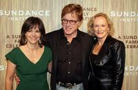 Glenn Close, Robert Redford and Sally Field at the Sundance Institute's 26th Annual Celebration,