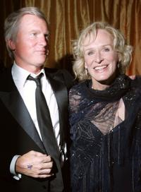 Glenn Close and husband David Shaw at the 20th Century Fox Emmy Party.