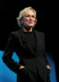 Glenn Close at the Time Magazine Global Health Summit at the Time Warner Center.