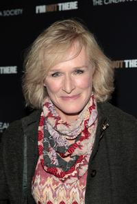 Glenn Close at the Chelsea West Cinemas attends the New York premiere of