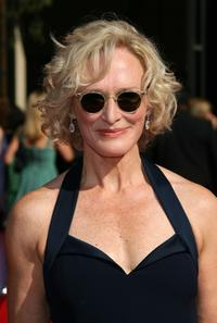 Glenn Close at the 59th Annual Primetime Emmy Awards at the Shrine Auditorium.