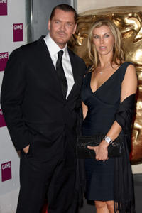 Craig Fairbrass and Guest at the 2012 Game British Academy Video Games Awards in England.