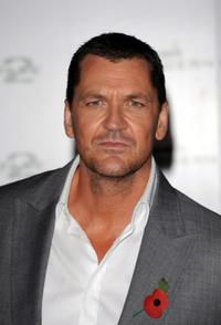 Craig Fairbrass at the launch of