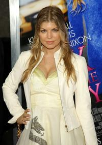 Stacy Ferguson at the premiere of