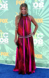 Stacy Ferguson at the 2008 Teen Choice Awards.