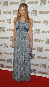 Stacy Ferguson at the ASCAP's 25th Annual Pop Music Awards.