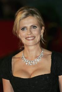 Isabella Ferrari at the Patricia McQueeney Award during the Rome Film Festival (Festa Internazionale di Roma).