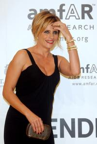 Isabella Ferrari at the amfAR's Inaugural Cinema Against AIDS Rome.