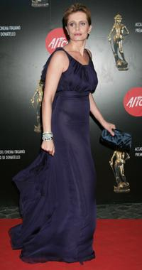 Isabella Ferrari at the Italian Movie Awards