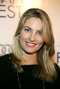 Madchen Amick attends the world premiere of