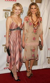 Madchen Amick and Izabella Miko at the 14th Annual Britannia Awards.