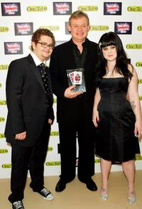 Jack Osbourne, Martin Clunes and Kelly Osbourne at the British Comedy Awards 2004.
