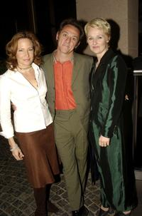 Rebecca Frith, David Field and Rachael Blake at the Critics Circle Awards 2003.