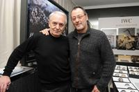 Didier Flamand and Jean Reno at the IWC Schaffhausen Private Dinner Reception.