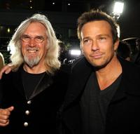 Billy Connolly and Sean Patrick Flanery at the premiere of