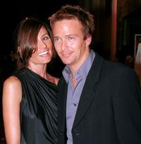 Sasha and Sean Patrick Flanery at the premiere of