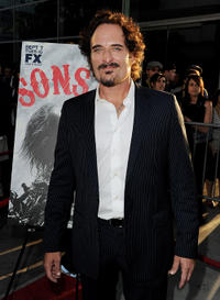 Kim Coates at the season three premiere of
