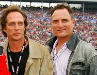 William Fichtner and Kim Coates at the NASCAR Nextel Cup Series Dickies 500.