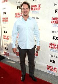 Kim Coates at the series premiere screening of