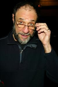 F. Murray Abraham at the press conference announcing a celebrity reading of the ancient Greek anti-war play