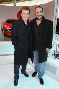 Thierry Fremont and Francois-Xavier Demaison at the 2010 Paris Motor Show.