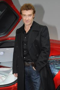 Thierry Fremont at the 2010 Paris Motor Show.